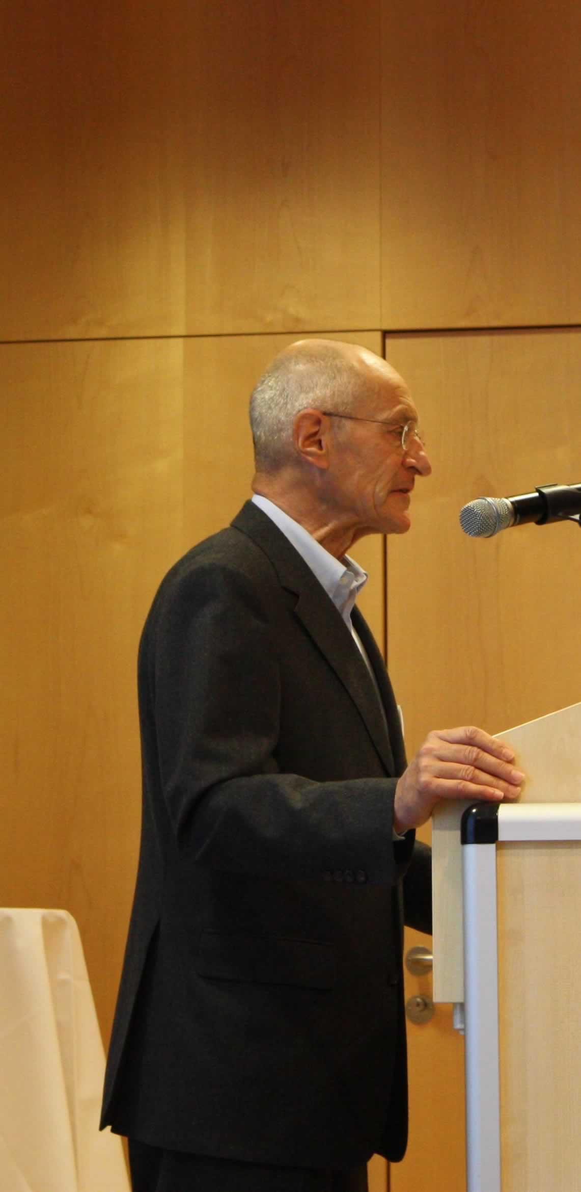 Begrüssung durch Vereinspräsident Peter Grütter